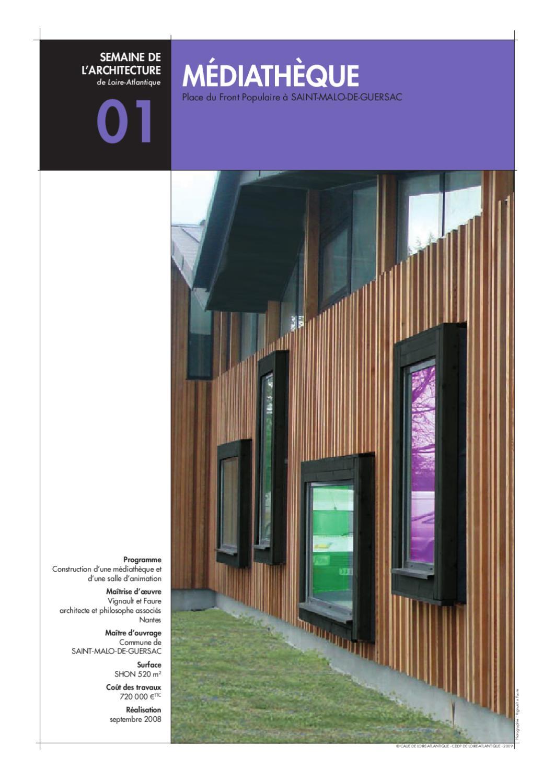 semaine de l 39 architecture 2009 by caue 44 issuu. Black Bedroom Furniture Sets. Home Design Ideas