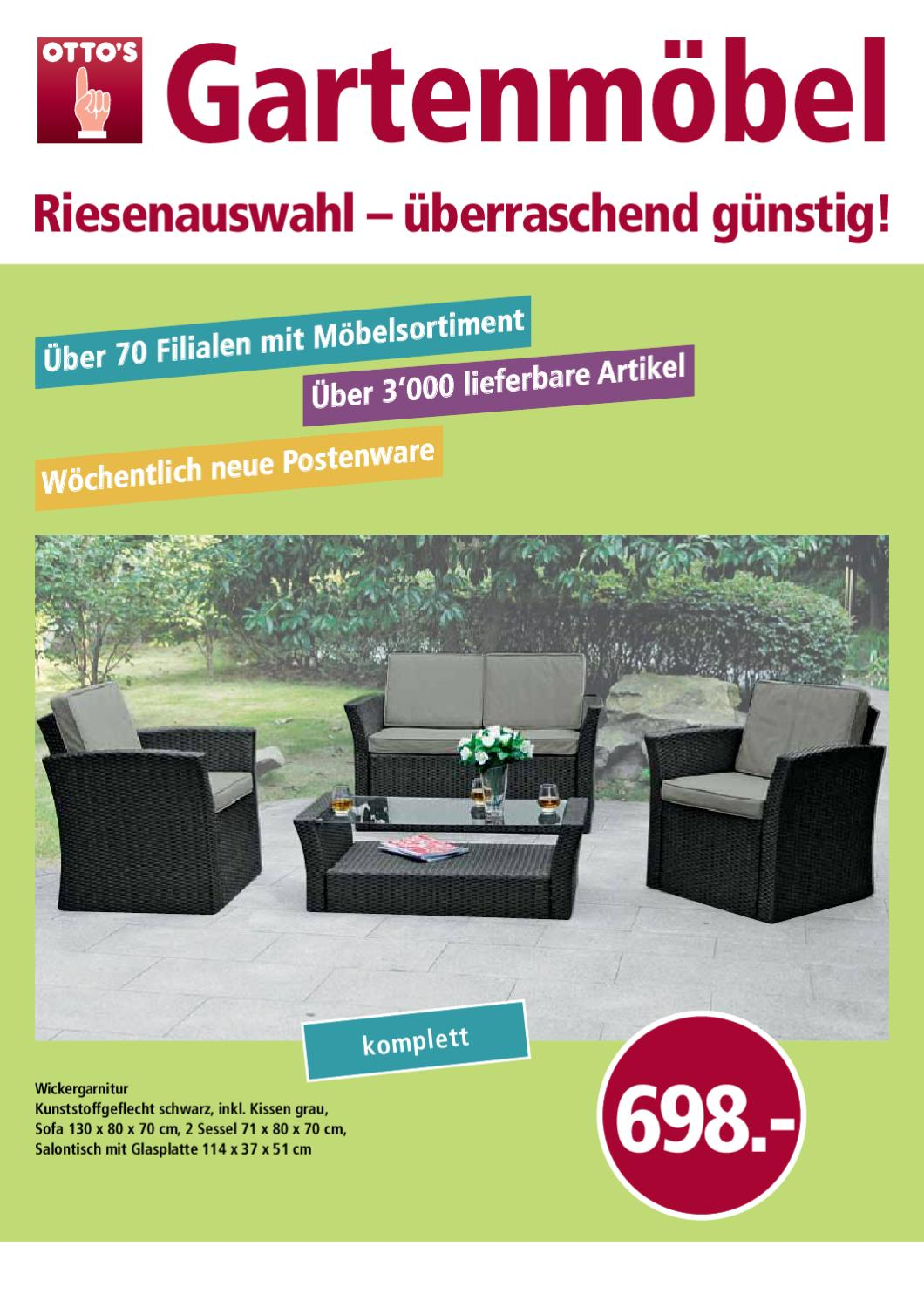 gartenm bel bei otto s by otto 39 s ag issuu. Black Bedroom Furniture Sets. Home Design Ideas