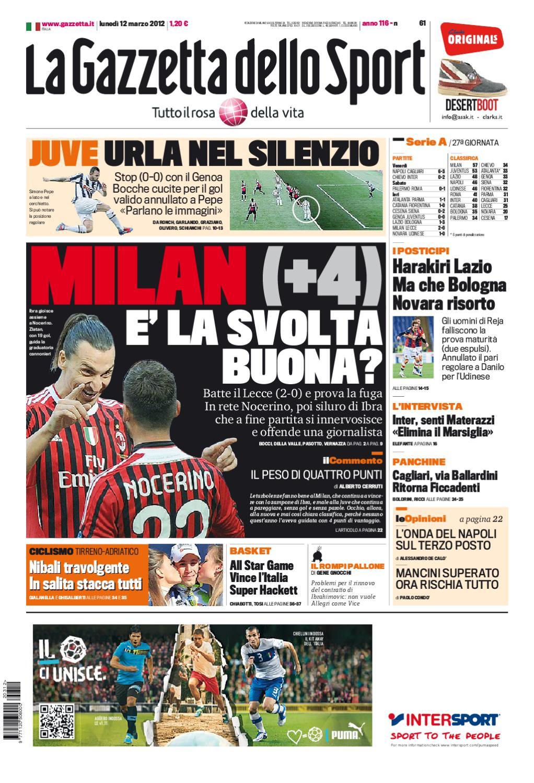 meet ab001 c3ba1 Gazzetta dello Sport by edo datum - issuu