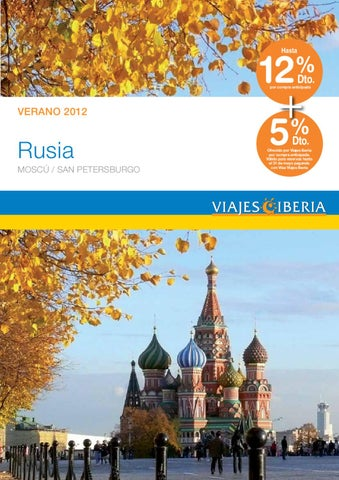 Viajes Iberia Rusia 2012 By Orizonia Corporation Issuu