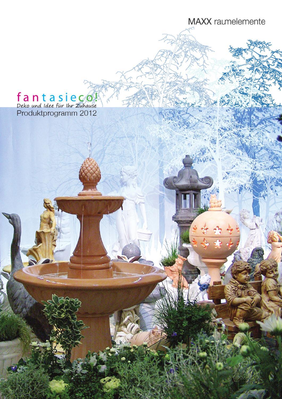 Avorio Fantasieco Putte Sommer Garten Statue Steinfigur Deko-Figur
