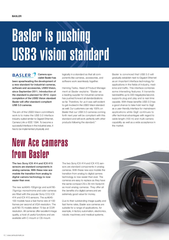 Usb3 Vision