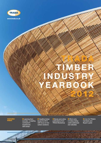 Trada Timber Industry Yearbook 2012 By Open Box Media