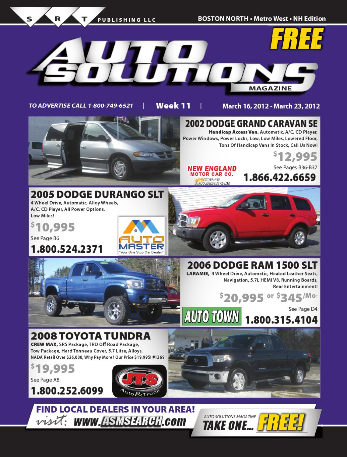 Week 11 (North book) by Auto Solutions Magazine - issuu