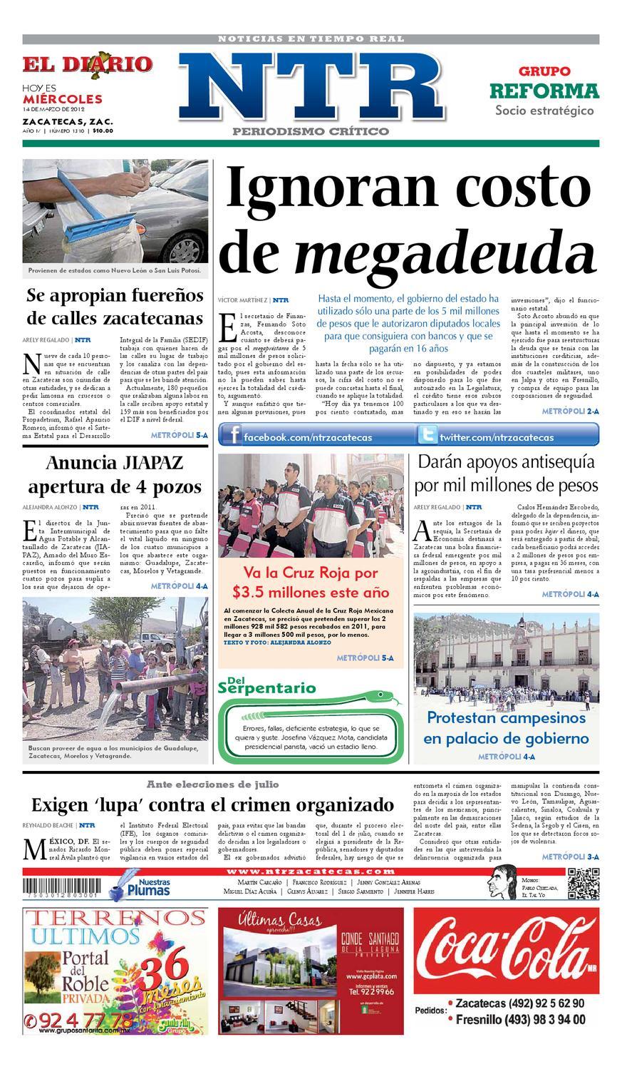 El Diario NTR by NTR Medios de Comunicación - issuu 1ea60d8aa44