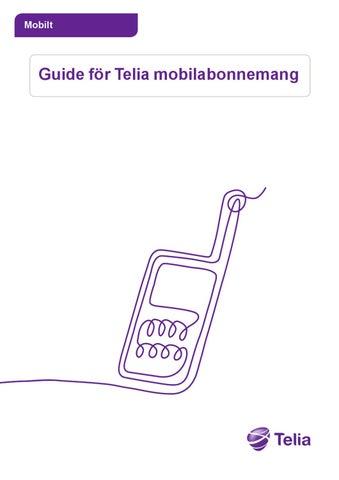telia mobilabonnemang prata på