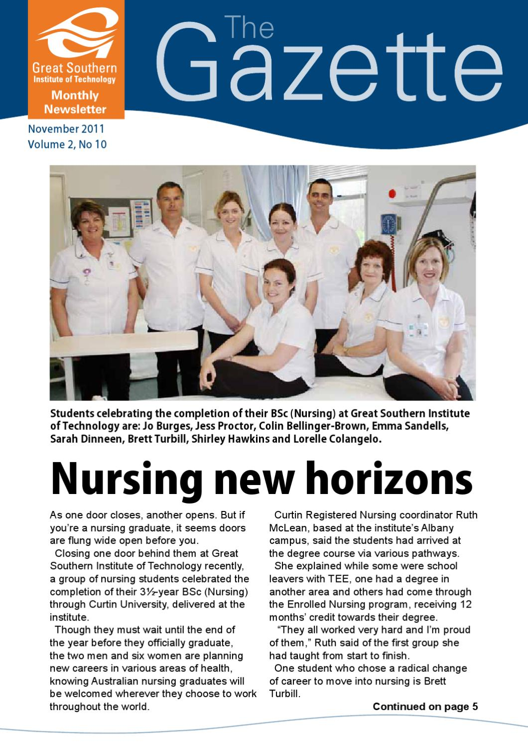 Paramedic practice today above and beyond volume 2 revised array the gazette november 2011 by great southern institute of technology rh issuu com fandeluxe Gallery
