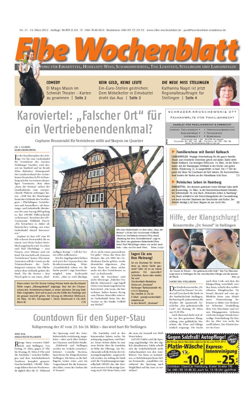Eimsbüttel KW11 by Elbe Wochenblatt Verlagsgesellschaft mbH