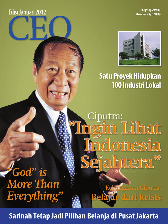 Majalah Ceo Januari 2012 By Utoyo Hyahoocom Issuu Produk Ukm Bumn Kain Batik Middle Premium Sutera