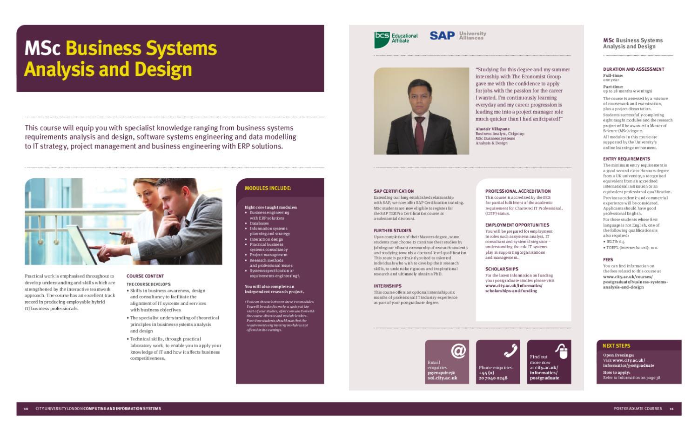 Postgraduate Computing Brochure By City University Of London Issuu