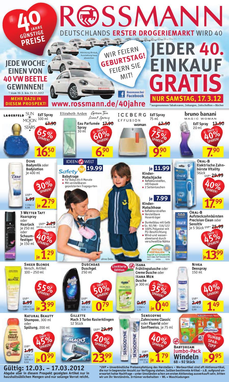 Rossmann Angebote 12 17 März 2012_klein by EASYCHECK issuu