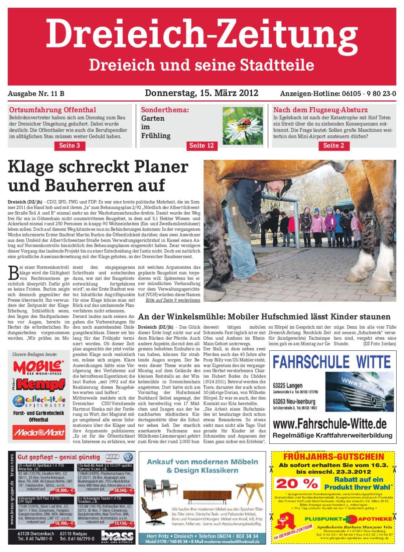 Dz Online 011 B By Dreieich Zeitung Offenbach Journal Issuu