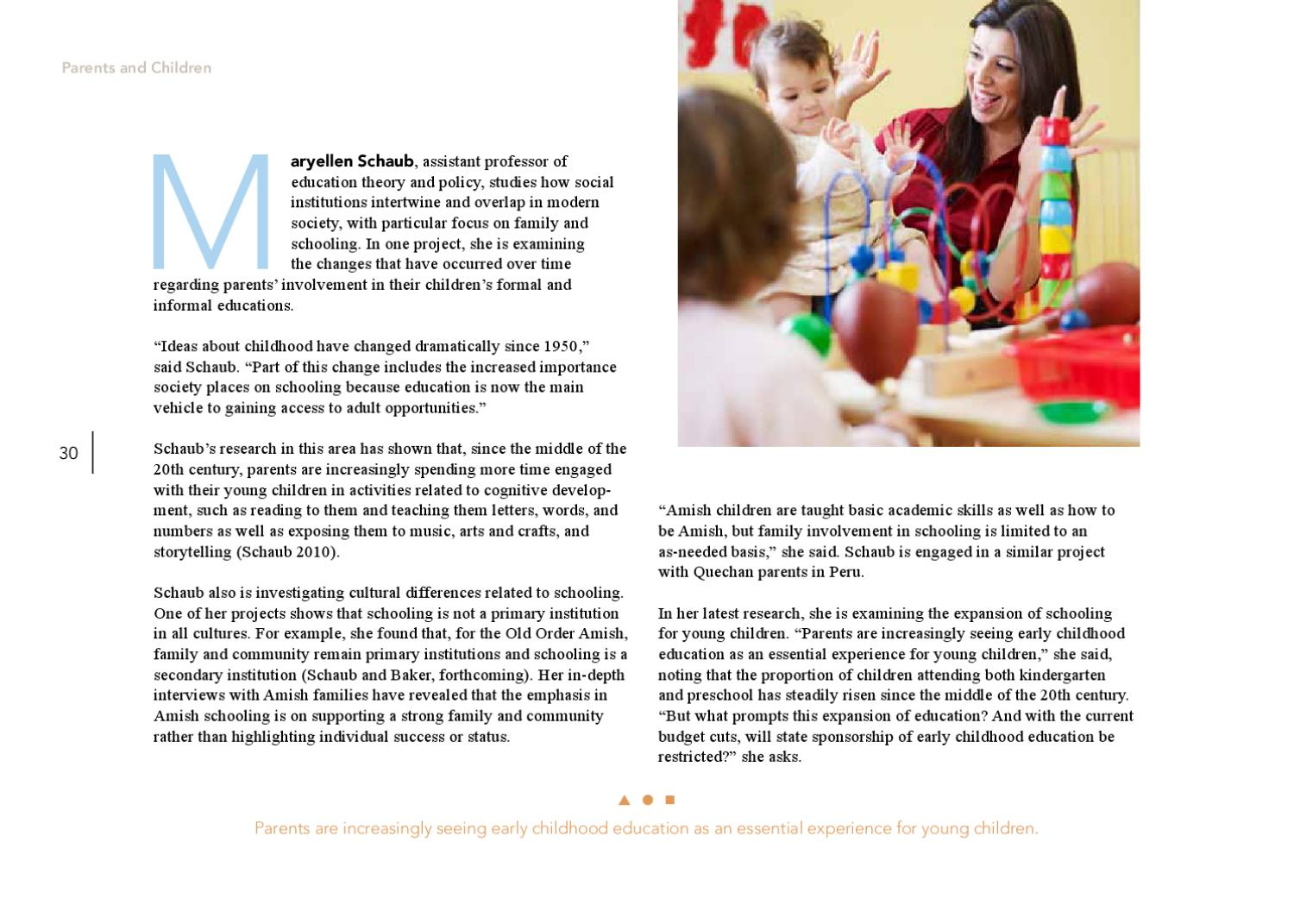 research project ideas for early childhood studies