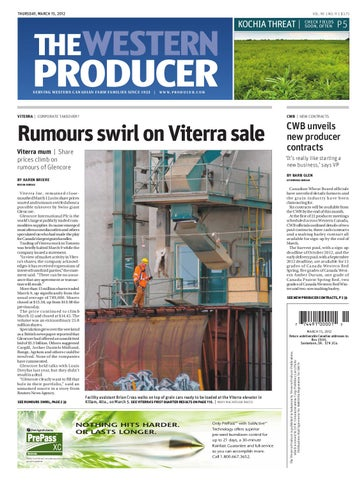 4ee63e9852434 March 15, 2012 - The Western Producer by The Western Producer - issuu