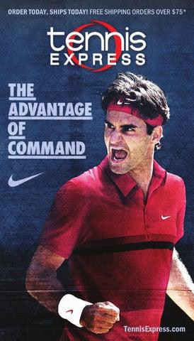 best website d1349 0fc5f 2012 Tennis Express Spring Catalog