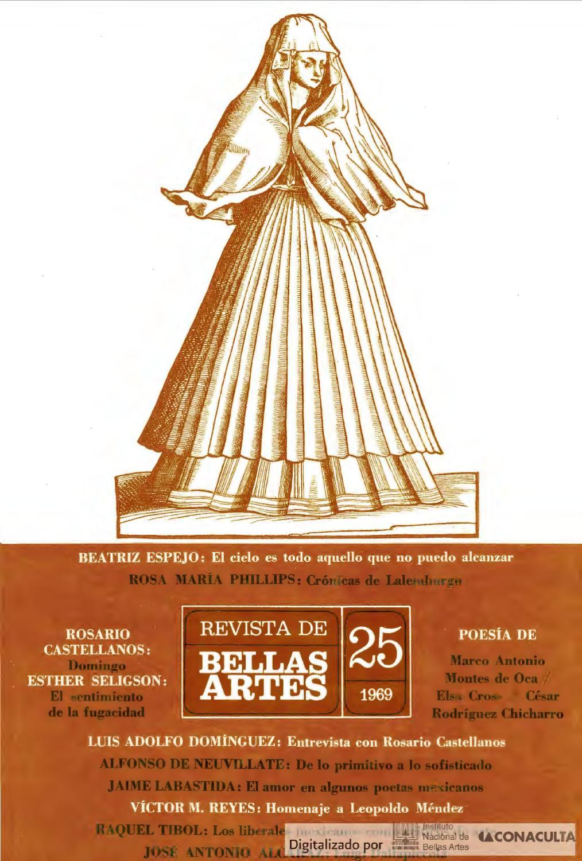 Revista de Bellas Artes, núm. 25, 1969 by Coordinación Nacional de ...