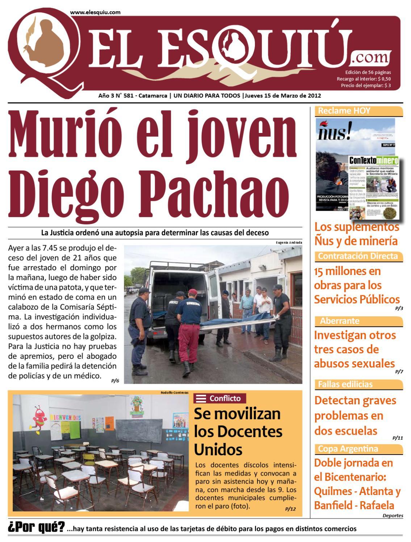 El Esquiu.com Jueves 15 de marzo de 2012 by Editorial El Esquiú - issuu