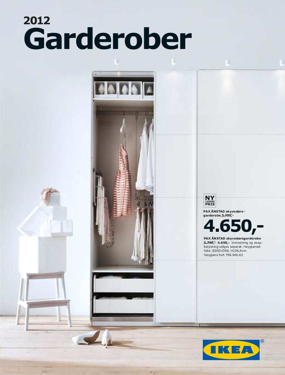 ikea garderober by issuu. Black Bedroom Furniture Sets. Home Design Ideas