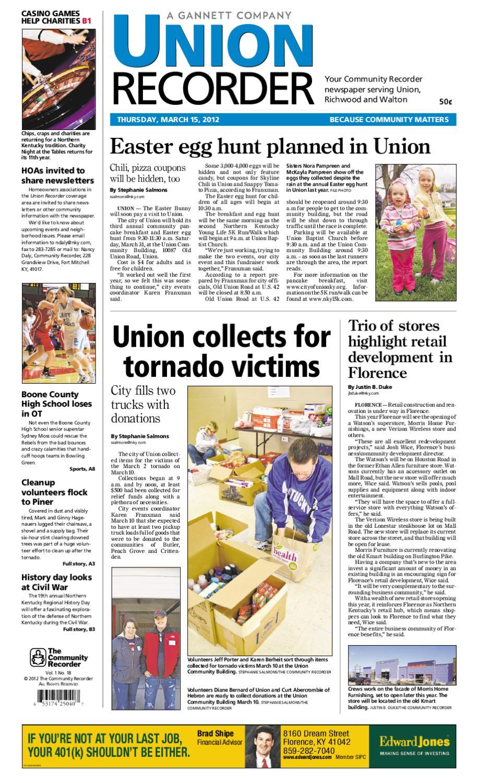 union recorder 031512 by enquirer media issuu rh issuu com