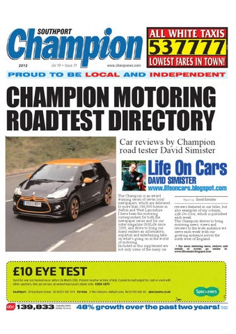 1e0867bfe8 Champion Road Test Directory by David Simister - issuu