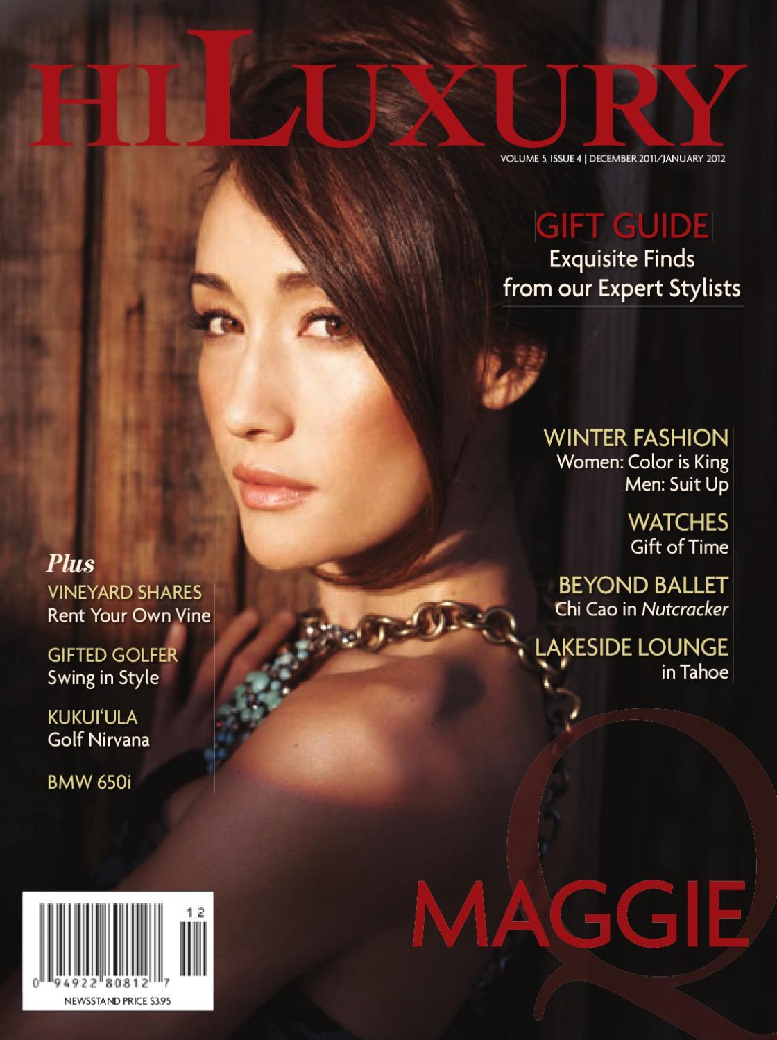 4891b84d862f HILuxury Magazine  December 2011 - January 2012 by Oahu Publications ...