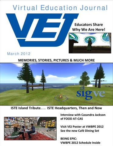 0775b3204d35 Virtual Education Journal March 2012 by Edovation - issuu