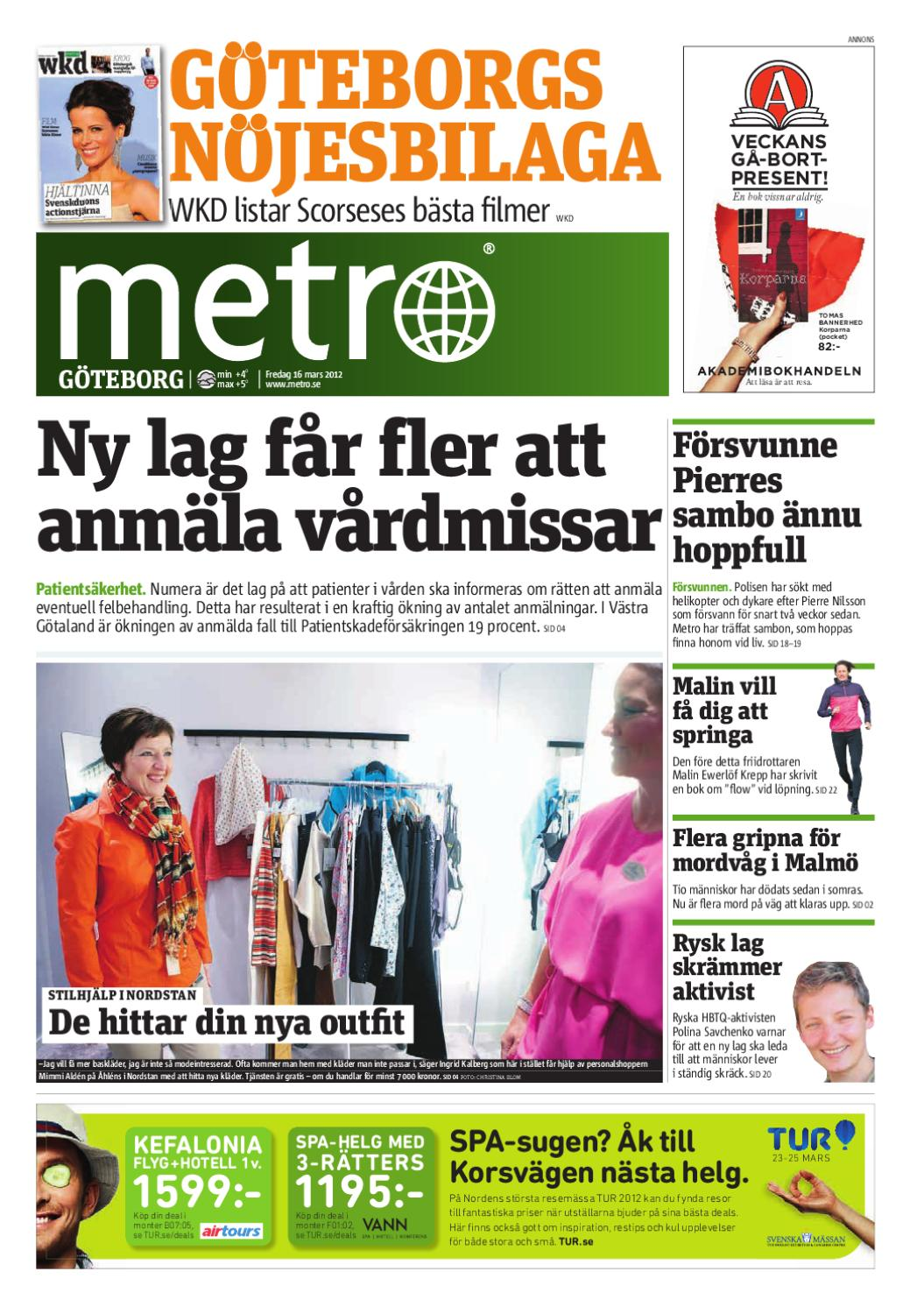 20120316 se goteborg by Metro Sweden - issuu 4597ddfb0608e