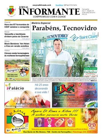 Edição 214 do Jornal Informante by Marcelo Mello - issuu 8bfe80add7530