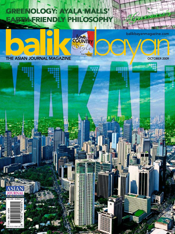 Balikbayan Magazine October 2009 by Balikbayan Magazine - issuu