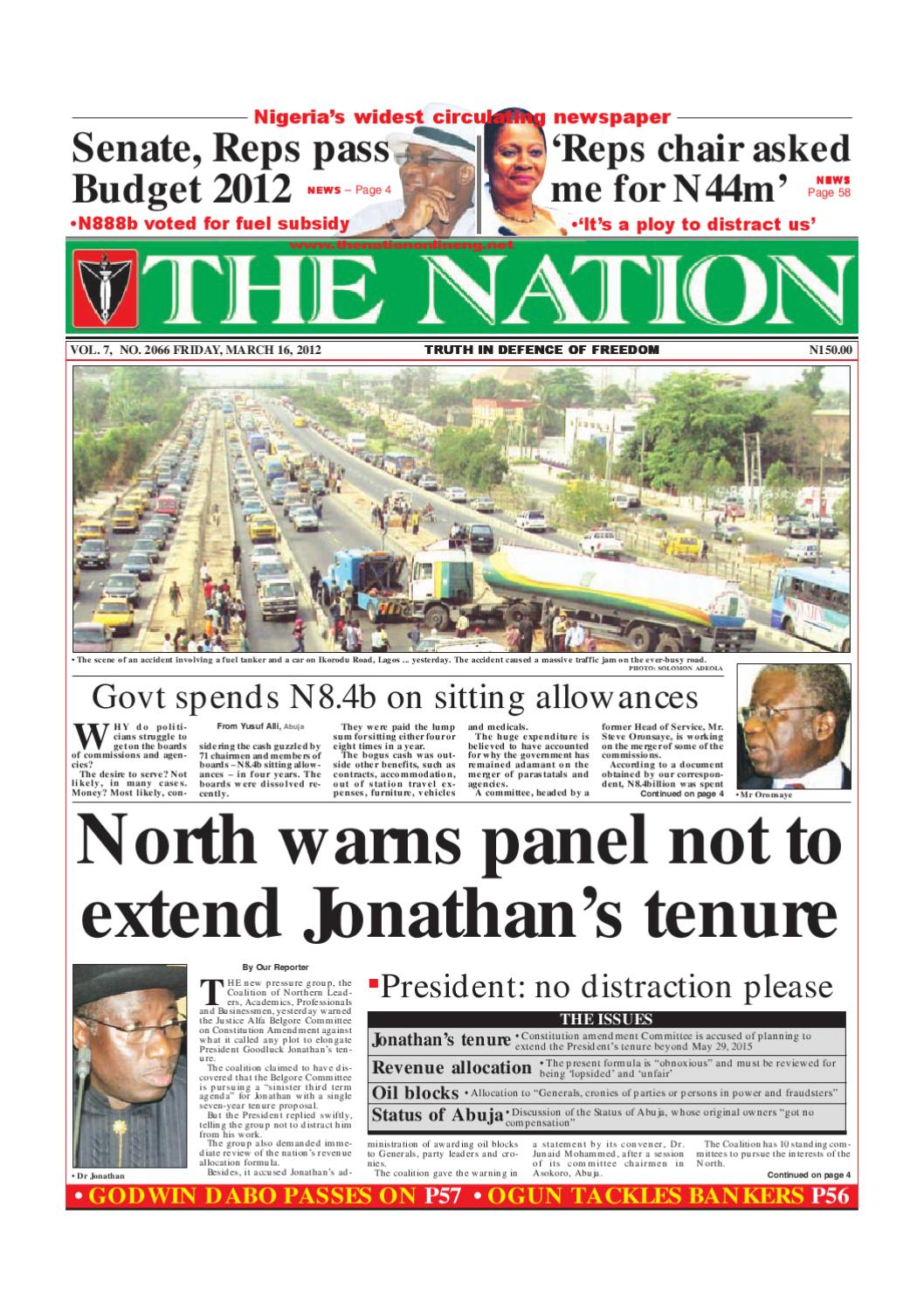 The Nation March 16 2012 By Issuu Have A Model Habcf024sd After Power Outage Last Night