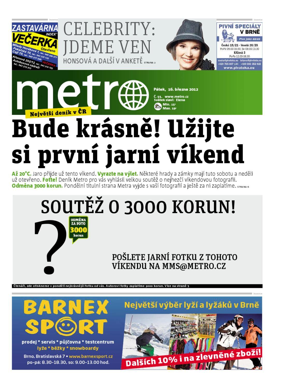 470ca3d800f deník METRO - XXL Brno 03 12 by METRO ČR a.s. - issuu