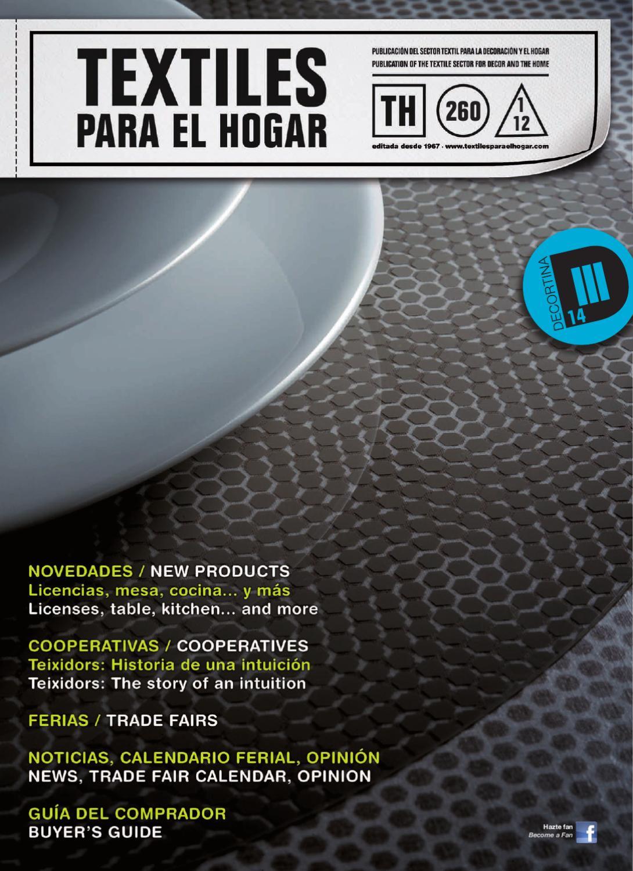 Textiles Para El Hogar Nº260 By Publica Sl Issuu