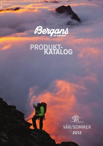 451dbde4 Bergans produktkatalog sommer 2012 by Bergans of Norway - issuu