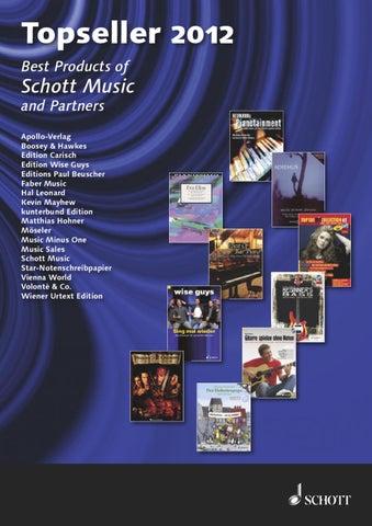 topseller schott music 2012 by schott music issuu