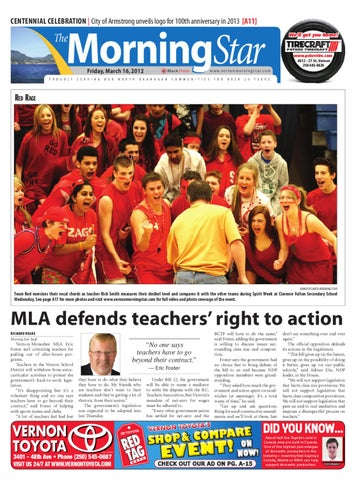 Vernon Morning Star March 16 2012 By Black Press Issuu