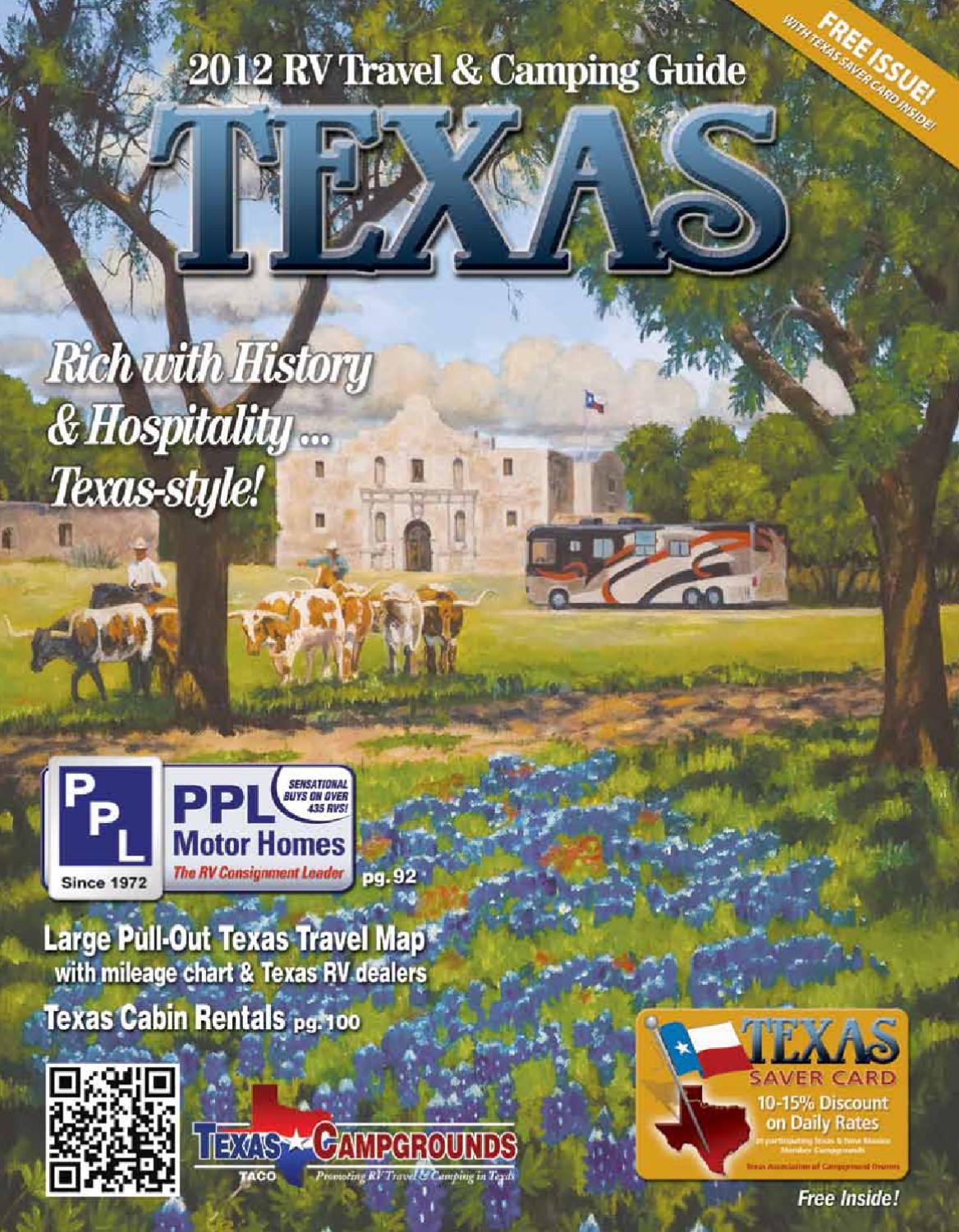 2012 Texas RV Travel & Camping Guide by AGS/Texas