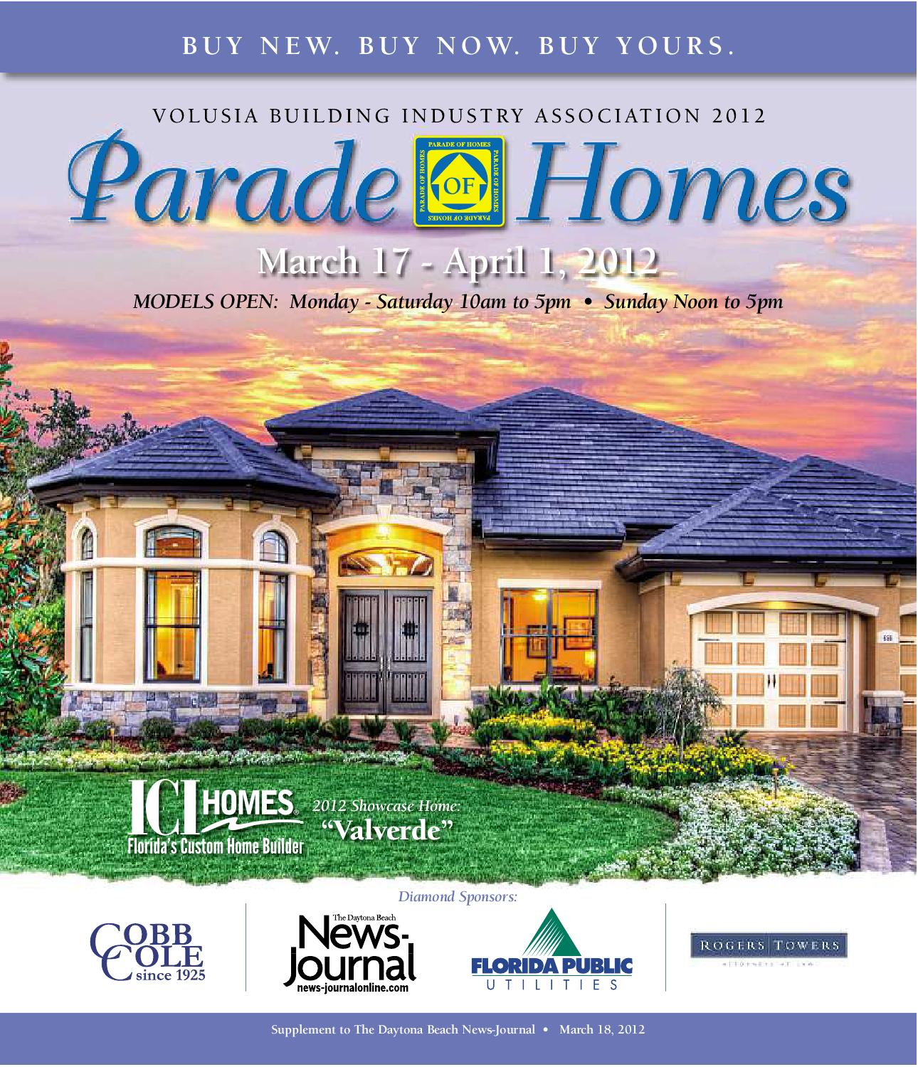 Volusia Parade Of Homes 2012 By Zgraph, Inc.