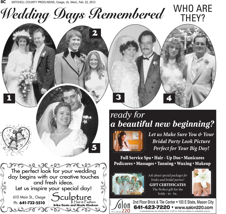 Mitchell County Press-News Weddings Special by Globe Gazette