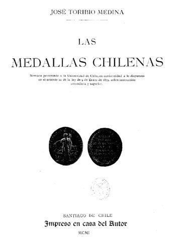 506ec725dbf3 Las Medallas Chilenas by Alberto Manzo Guaquil - issuu