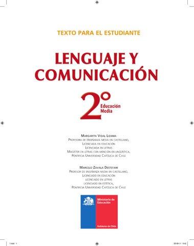 Lenguaje Y Comunicación 2º Medios 2012 By José A Cárcamo