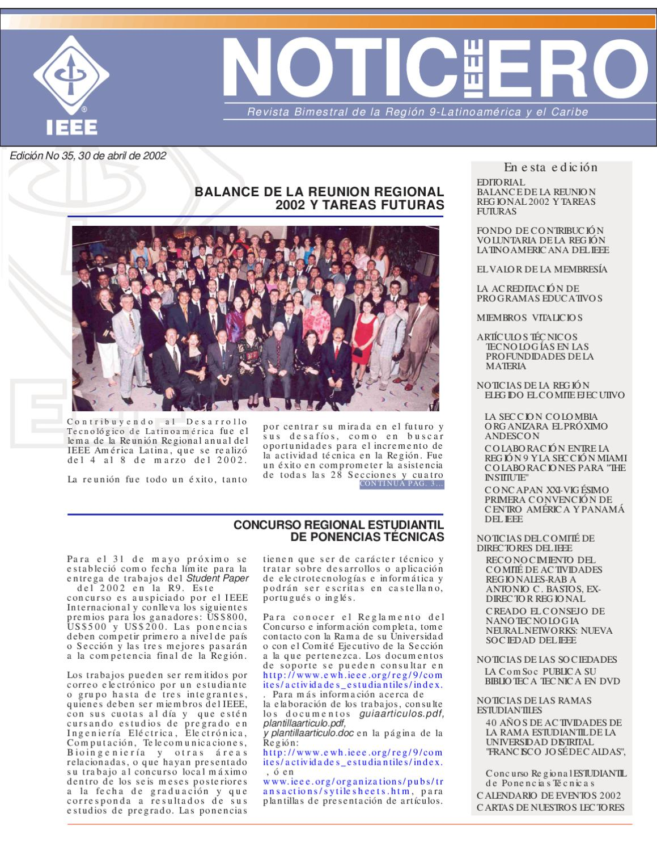 NoticIEEEro N° 35 by NoticIEEEro - issuu