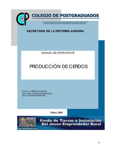 MANUAL DE CRIA DE CERDOS by WILLIAMS ALONSO - issuu