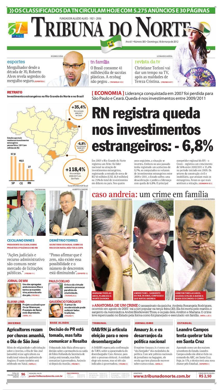 Tribuna do Norte - 18 03 2012 by Empresa Jornalística Tribuna do Norte Ltda  - issuu ffba95645dae4