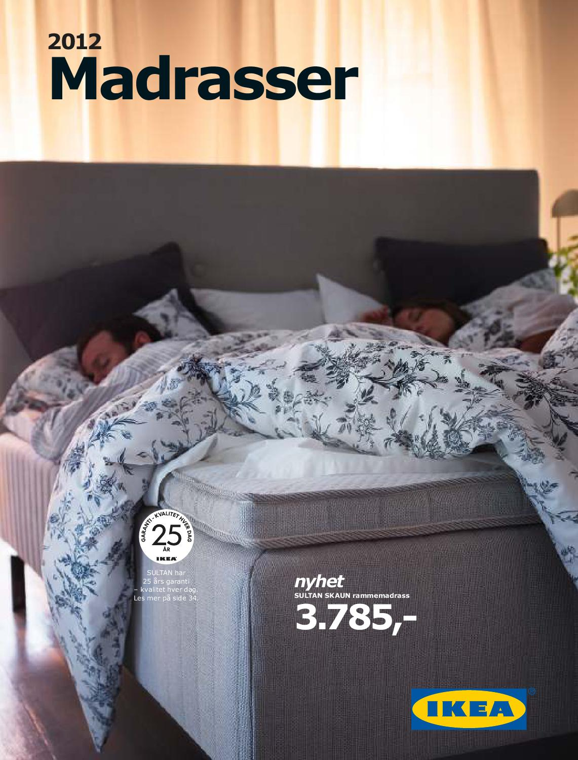 Ikea Madrasser 2012 by Postkassereklame no issuu