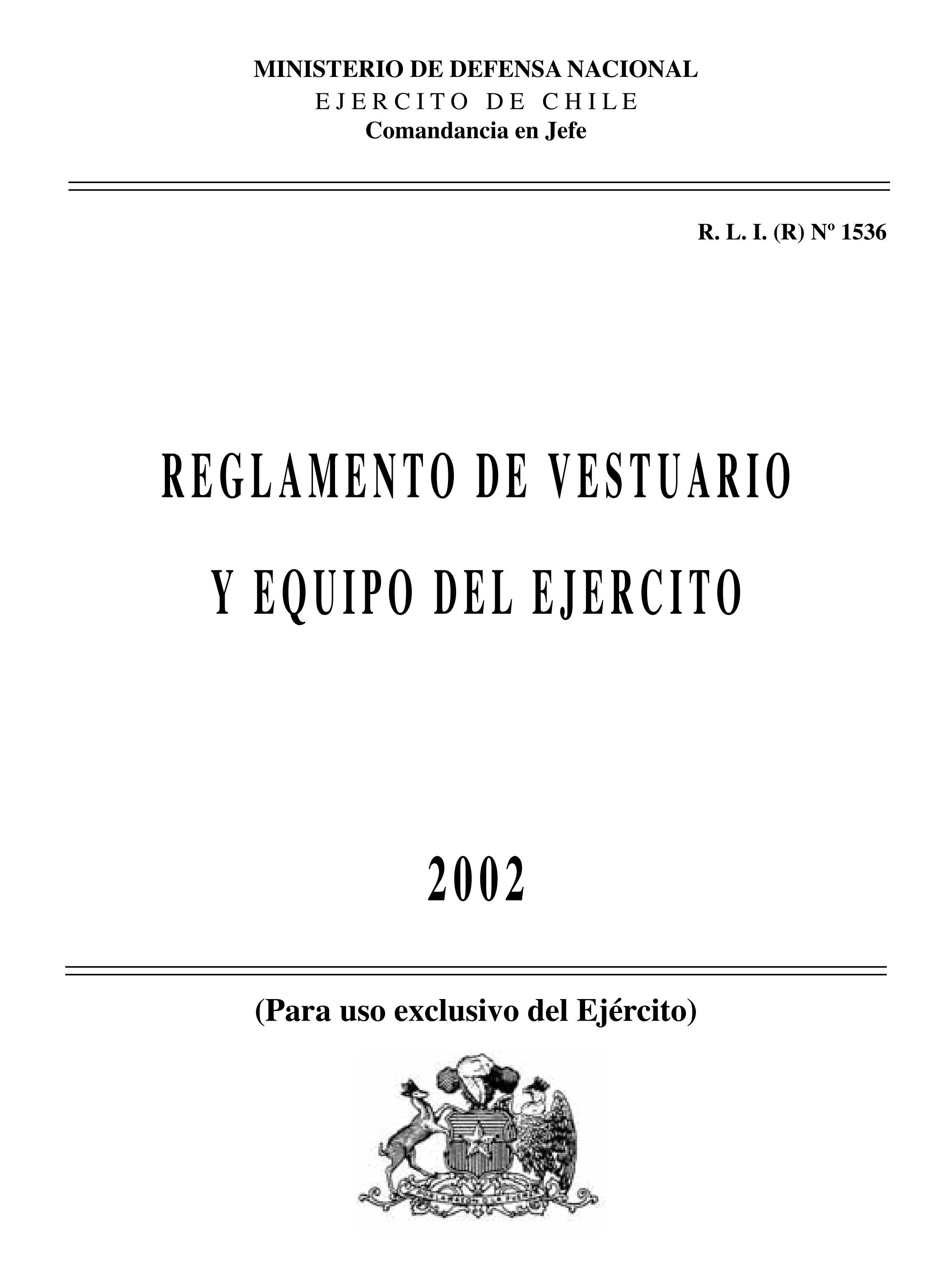 Reglamento de Vestuario y Equipo del Ejército by Rodolfo Manzo - issuu af0242a7bae