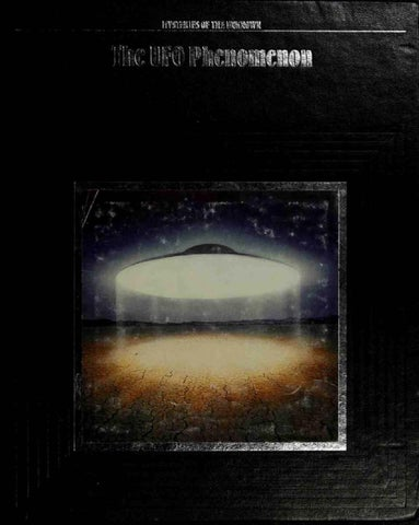 Time Life Mysteries Of The Unknown The Ufo Phenomenon By Gary