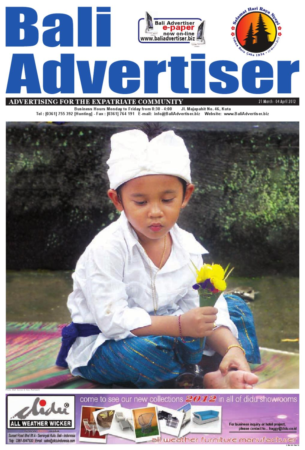 BA 21 March 2012 by Bali Advertiser - issuu 8e782686ce2f