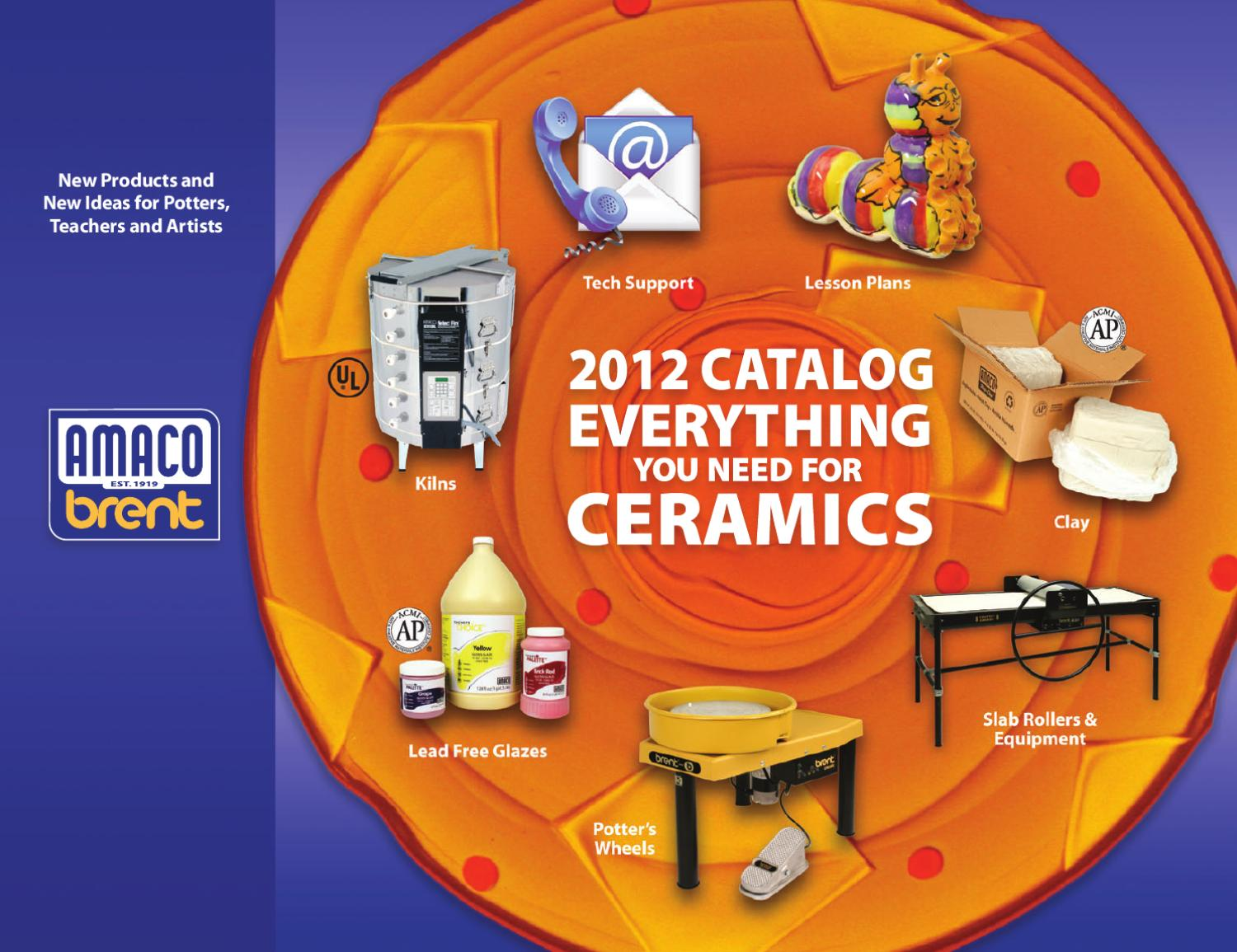 Amaco 2012 Catalog By Rochelle Mcgriff Issuu