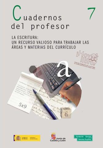 Cuadernos del profesor 7 by Trasteando Ideas - issuu