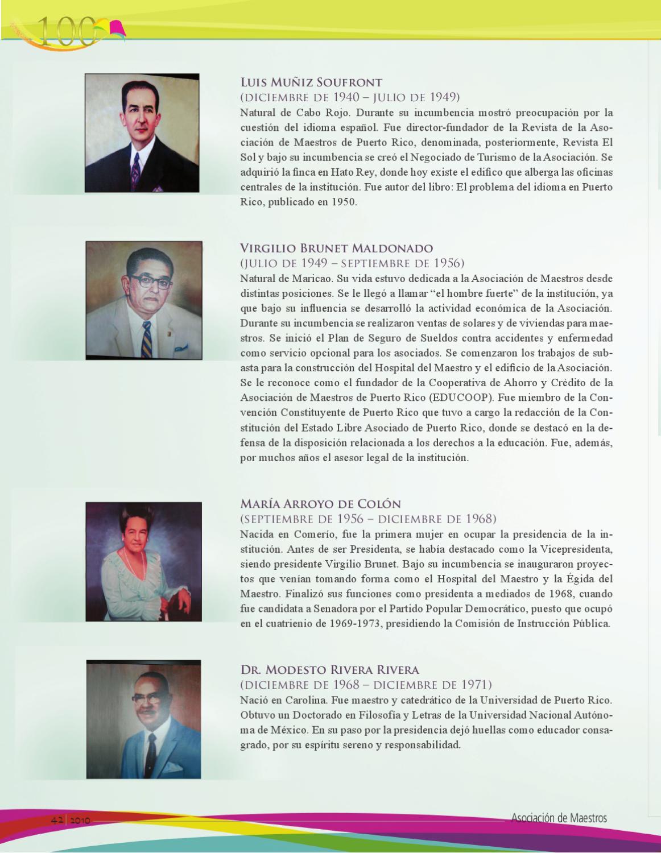 Revista el sol by asociaci n de maestros de puerto rico issuu - Como llamar a puerto rico ...